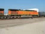 BNSF 5483 enters Cherokee Yard